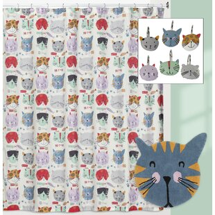 Cipriano Kitty Shower Curtain