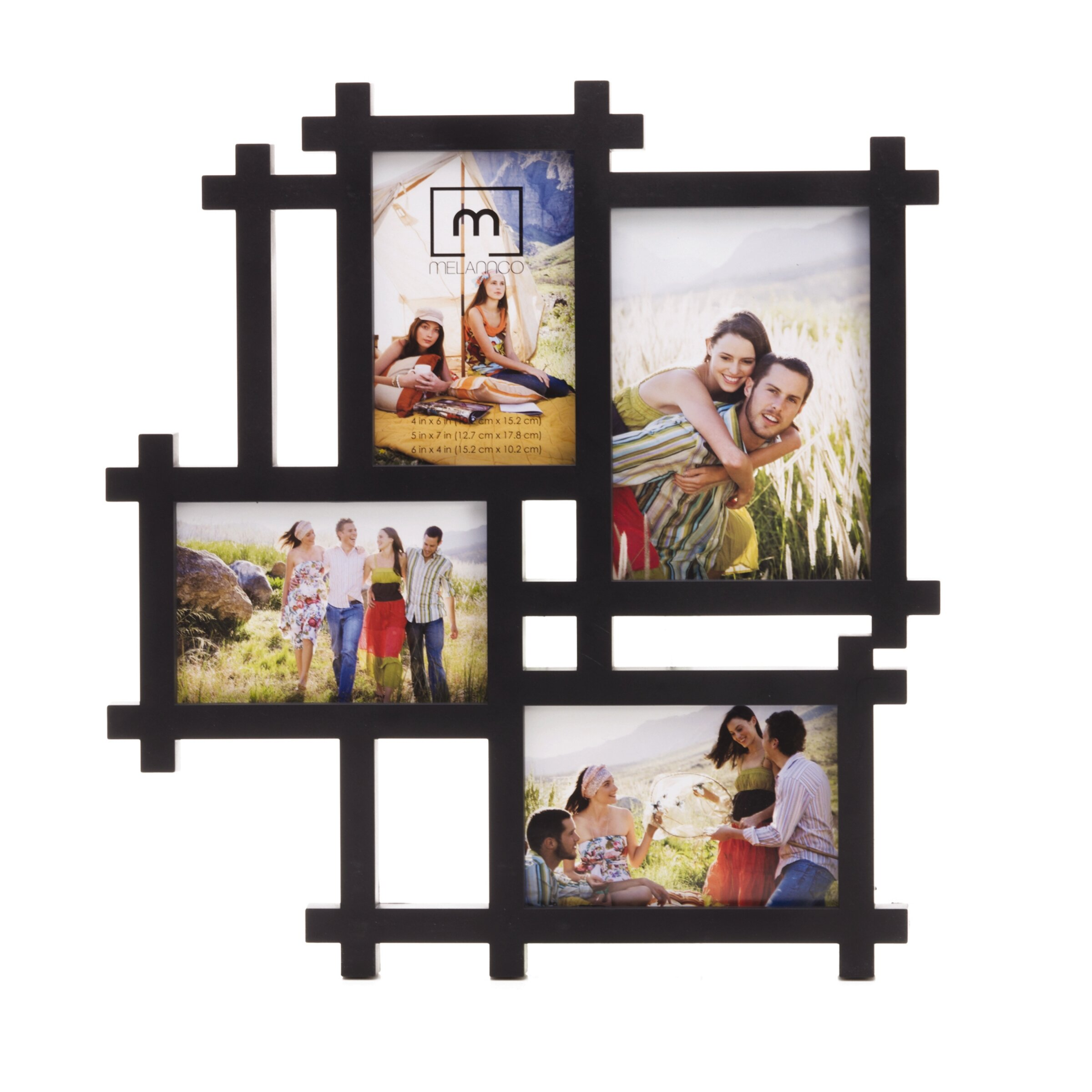 Andover Mills 4-Opening Lattice Collage Frame | Wayfair