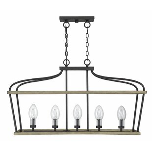 Wilbur 5-Light Kitchen Island Pendant