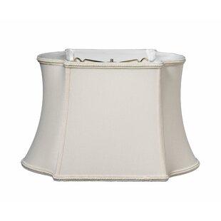 Oblong 16 Silk/Shantung Bell Lamp Shade