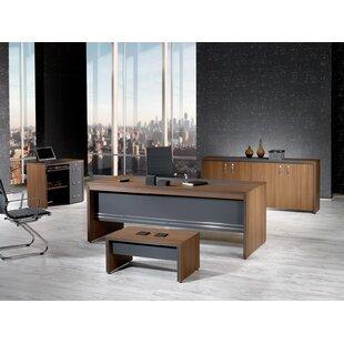Cristina Modern 4 Piece Desk Office Suite