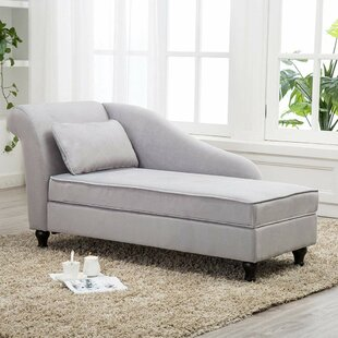 Compare Schaefer Storage Chaise Lounge by Canora Grey Reviews (2019) & Buyer's Guide