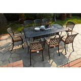 Lenahan 9 Piece Dining Set with Cushions