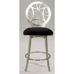 29.7 Swivel Bar Stool Chintaly Imports
