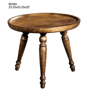 Buy clear Stockholm Wood End Table by Charlton Home