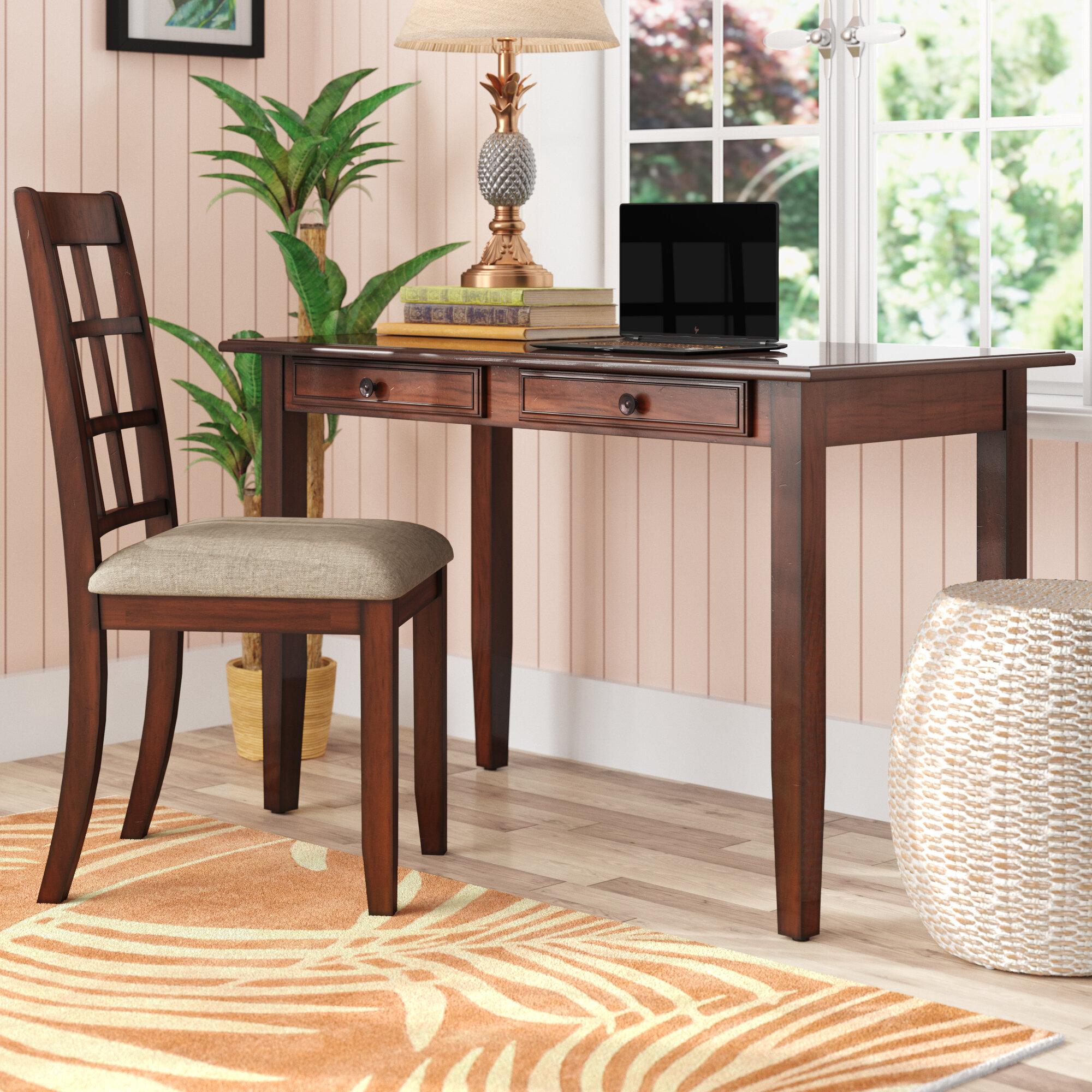 Winston Porter Cifuentes Desk And Chair Set Reviews Wayfair Ca