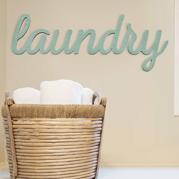 Laundry Wall Decor Wayfair