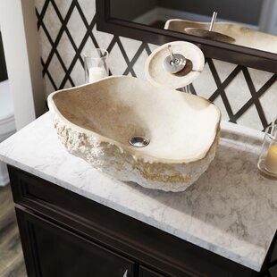 Galaga Stone Specialty Vessel Bathroom Sink