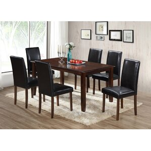 7 Piece Dining Set by Best Quality Furniture