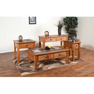 Loon Peak Fresno 3 Piece Coffee Table Set