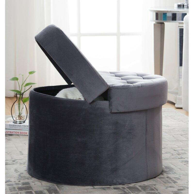Surprising Narvaez Tufted Storage Ottoman Machost Co Dining Chair Design Ideas Machostcouk