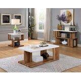 Yoel 3 Piece Coffee Table Set by Brayden Studio®