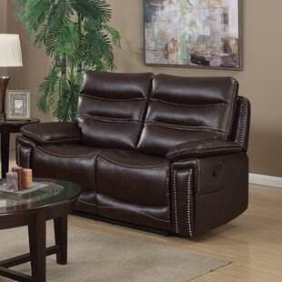 Red Barrel Studio Adair Leather Reclining..