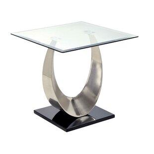 Gerbera End Table By Orren Ellis