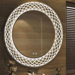 Reviews Bode Back Lit LED Daylight Bathroom Mirror ByOrren Ellis