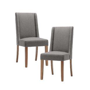 Granderson Upholstered Dining Chair (Set Of 2) By Three Posts