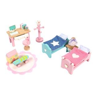 Daisylane Dollhouse Children's Bedroom Set