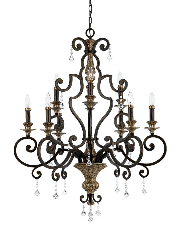 Astoria Grand Windsor Rise 9 Light Chandelier Reviews