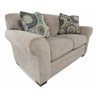 Creekside Chenille 67 Rolled Arm Loveseat