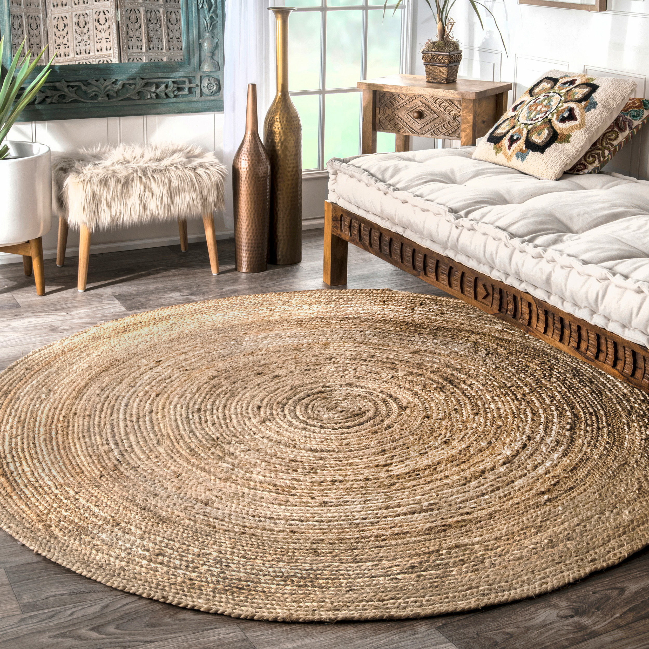 3 4 Round Area Rugs You Ll Love In 2020 Wayfair
