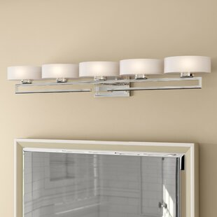 Orren Ellis Imler 5-Light Vanity Light