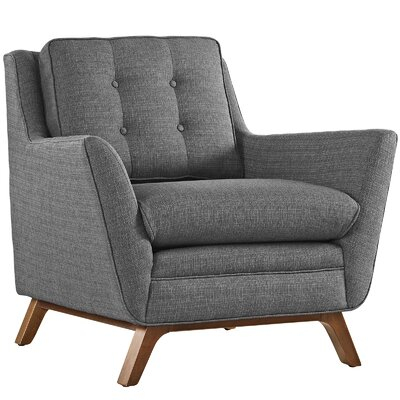 George Oliver Binder Armchair Upholstery: Gray