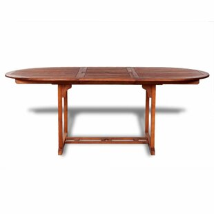 Corley Extendable/Folding Wooden Dining Table By Sol 72 Outdoor