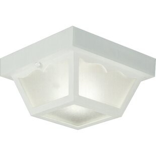 Boyster 1-Light Flush Mount by Winston Porter