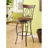 Barton Hill Swivel Bar Stool (Set of 2) by Fleur De Lis Living