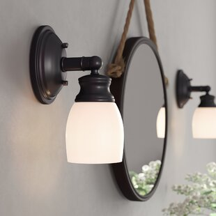 Donne 1-Light Bath Sconce by B..