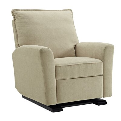 Mack & Milo Whelan Reclining Glider Upholstery Color: Beige