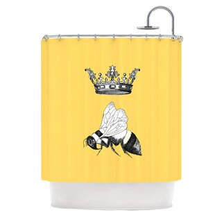 Exceptionnel Queen Bee Shower Curtain