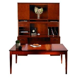 Mayline Group Sorrento Series 4-Piece Standard Desk Office Suite