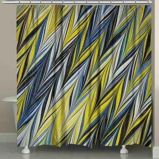 Hartt Zigzag Single Shower Curtain