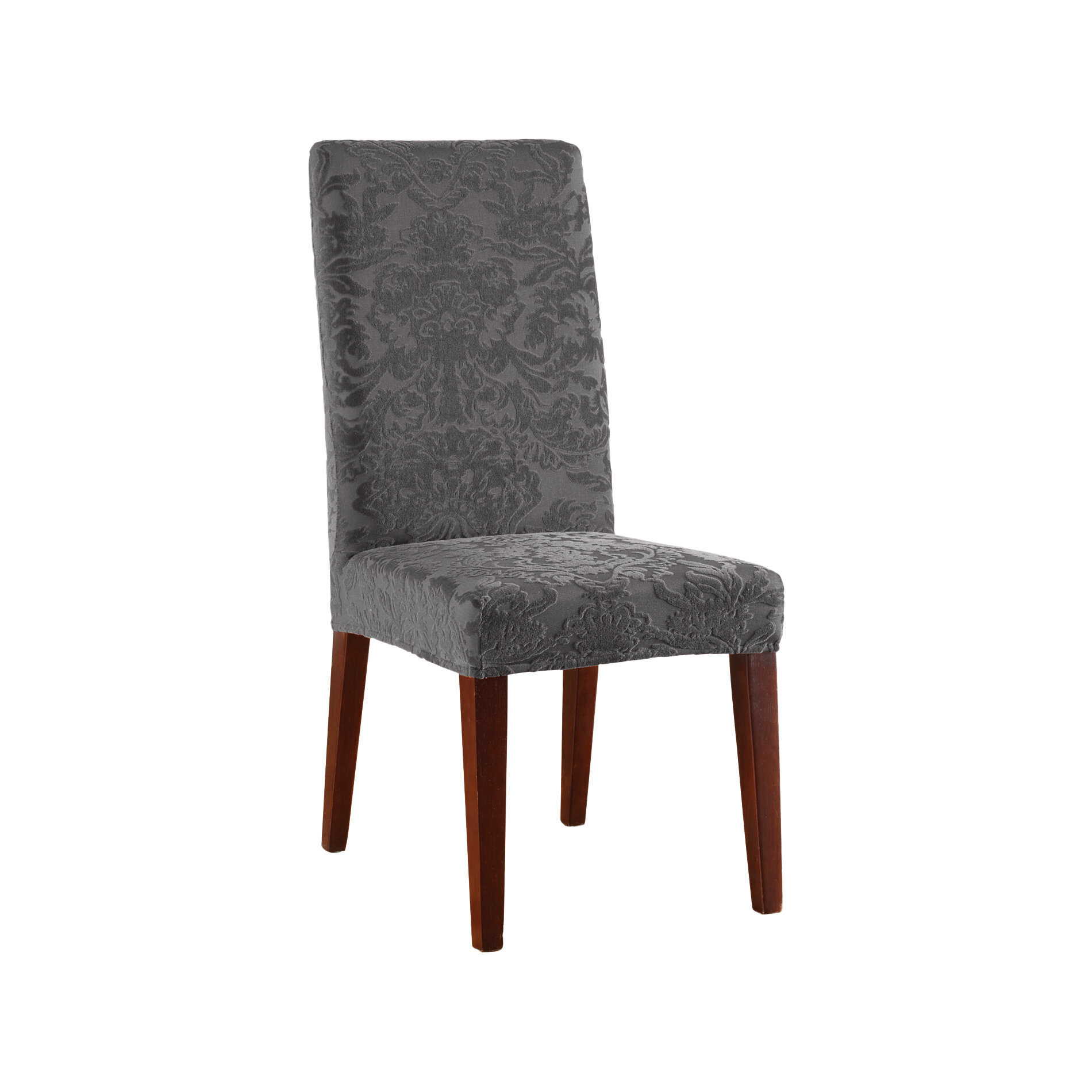 Ordinaire Sure Fit Stretch Jacquard Damask Dining Chair Slipcover U0026 Reviews | Wayfair
