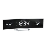 Technology Curved Tabletop Clock