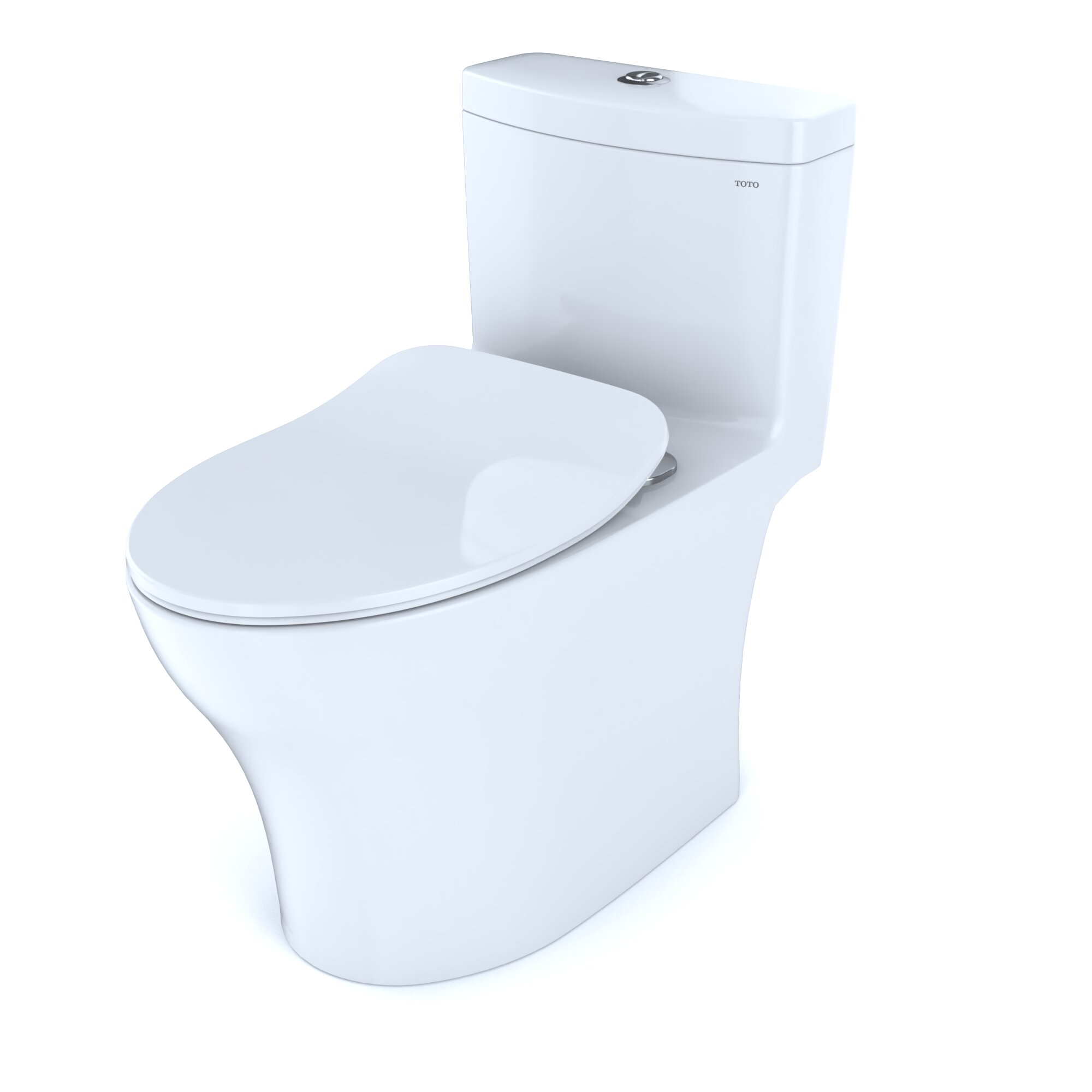 Pleasant Aquia Iv Ready Dual Flush Elongated Toilet With High Efficiency Flush Seat Included Ocoug Best Dining Table And Chair Ideas Images Ocougorg