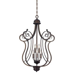 Fleur De Lis Living Samson 6-Light Lantern Chandelier