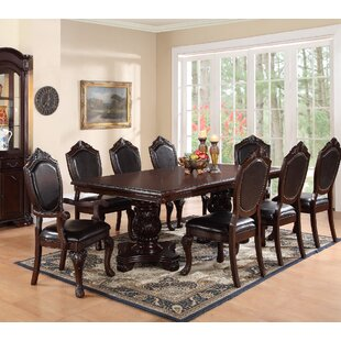 Sandin 9 Piece Dining Set Astoria Grand