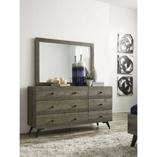 Boyett 5 Drawer Double Dresser