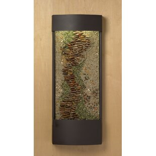 Henna Panel Enchanted Creek Water Feature With Led Light