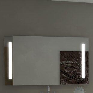 Orren Ellis Lency Illuminated LED Bathroom / Vanity Mirror