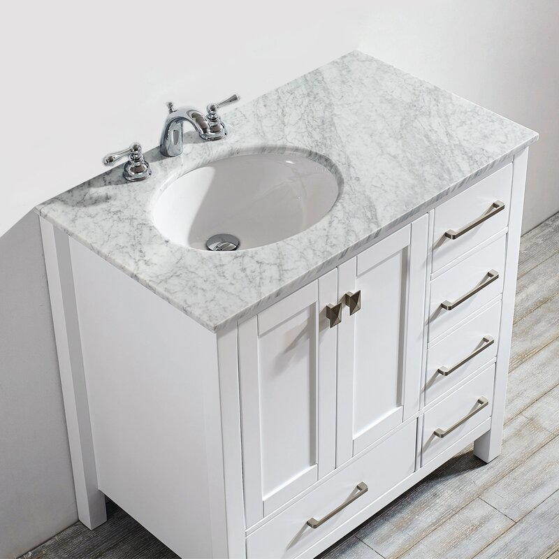 Awesome Newtown 36 Single Bathroom Vanity Set Interior Design Ideas Grebswwsoteloinfo