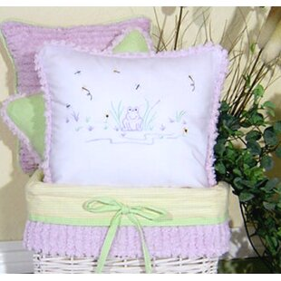 Froggy Decorator Throw Pillow