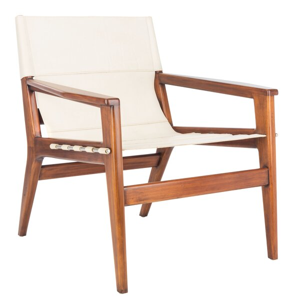 Enjoyable White Leather Sling Chair Wayfair Uwap Interior Chair Design Uwaporg