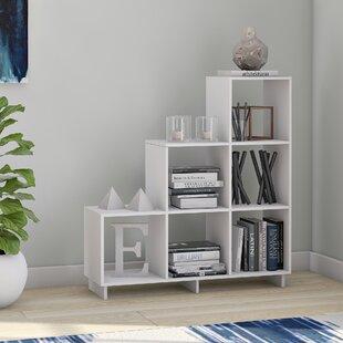 Latitude Run Susannah Stair Cube Unit Bookcase