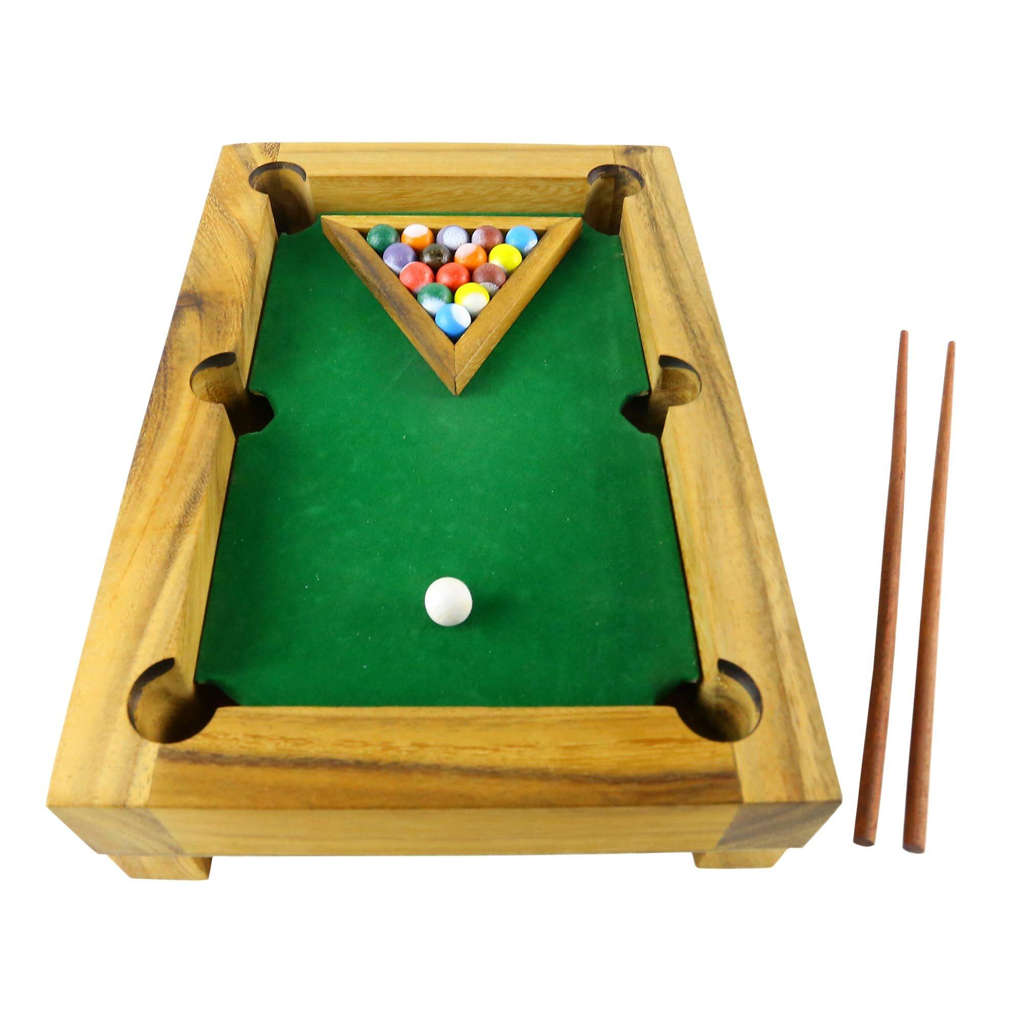 Bloomsbury Market Delevan Wood Mini Billiards Game Best Of Billiards Wayfair