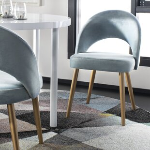 Elisabeth Retro Upholstered Dining Chair (Set of 2)
