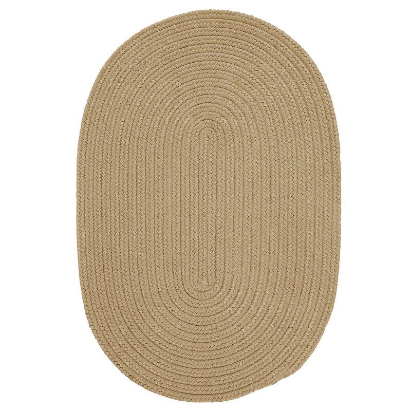 Winston Porter Mcintyre Braided Sand Indoor Outdoor Area Rug Reviews Wayfair