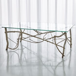 Twig Coffee Table With Tray Top By Global Views
